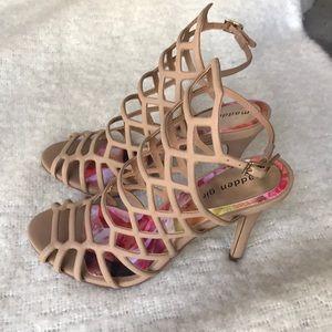 Madden Girl Caged Sandals NWOT